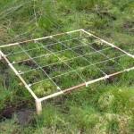 Cuadrado permanente para seguimiento del proyecto sobre los hábitats en Lixketa